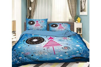 3D Red Triangle 046 Bed Pillowcases Quilt Duvet Cover Bedding Set Quilt Cover Quilt Duvet Cover, King Single