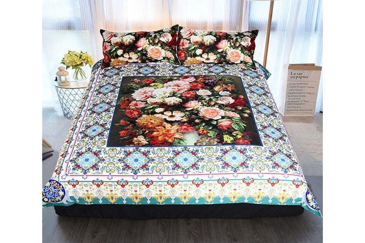 3D Oil Painting 221 Bed Pillowcases Quilt Duvet Cover Bedding Set Quilt Cover Quilt Duvet Cover, King
