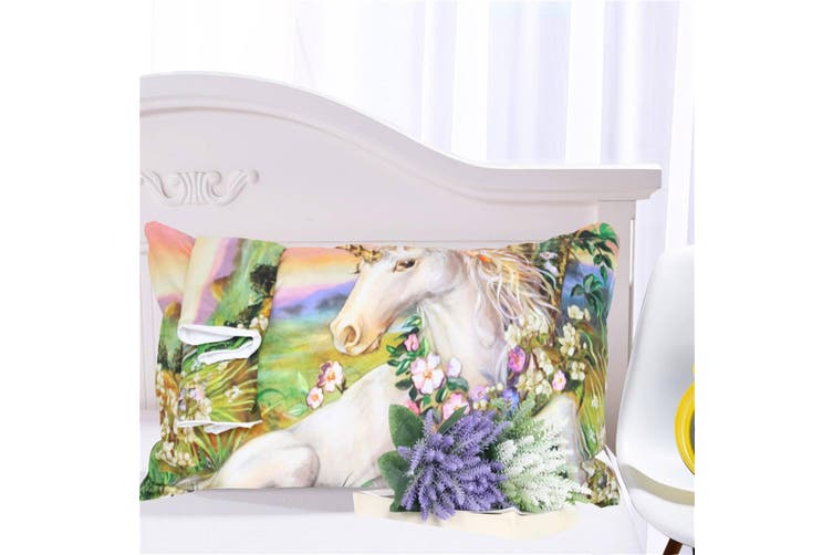 3D Oil Painting Unicorn 220 Bed Pillowcases Quilt Duvet Cover Bedding Set Quilt Cover Quilt Duvet Cover, Queen