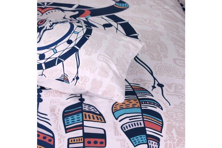 3D Sheep Skull 216 Bed Pillowcases Quilt Duvet Cover Bedding Set Quilt Cover Quilt Duvet Cover, Queen