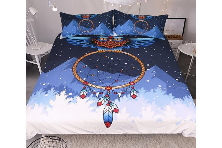3D Snow Mountain 213 Bed Pillowcases Quilt Duvet Cover Bedding Set Quilt Cover Quilt Duvet Cover, King Single