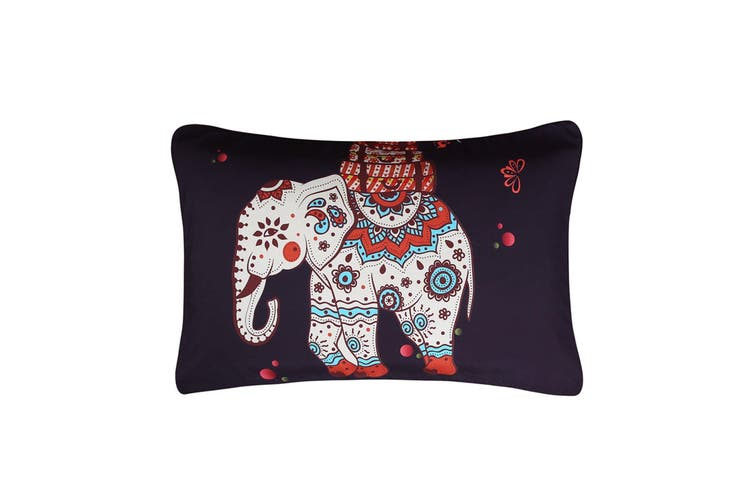 3D Elephant Fruitr 209 Bed Pillowcases Quilt Duvet Cover Bedding Set Quilt Cover Quilt Duvet Cover, Queen