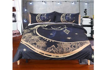 3D Moon Pendantn 201 Bed Pillowcases Quilt Duvet Cover Bedding Set Quilt Cover Quilt Duvet Cover, King Single