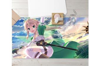 3D Sword Art Online 336 Anime Desk Mat, W90cmxH40cm(35''x18'')