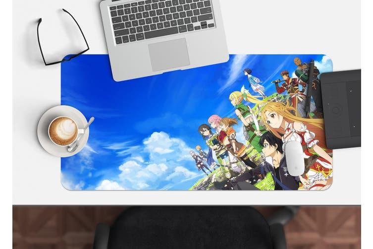3D Sword Art Online 335 Anime Desk Mat, W60cmxH30cm(24''x12'')
