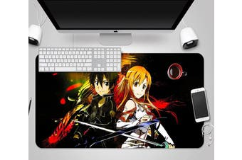 3D Sword Art Online 334 Anime Desk Mat, W120cmxH60cm(47''x24'')