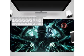 3D Sword Art Online 333 Anime Desk Mat, W60cmxH30cm(24''x12'')