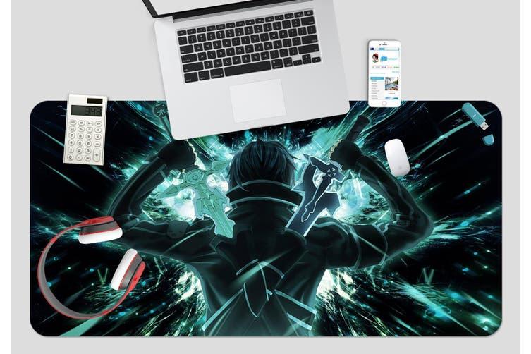 3D Sword Art Online 333 Anime Desk Mat, W90cmxH40cm(35''x18'')