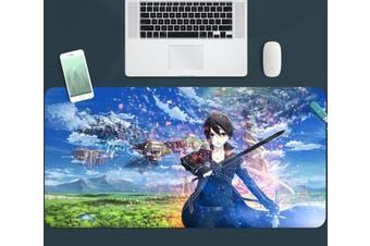 3D Sword Art Online 330 Anime Desk Mat, W60cmxH30cm(24''x12'')