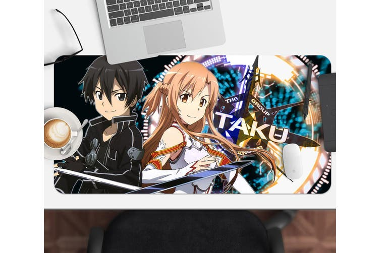 3D Sword Art Online 329 Anime Desk Mat, W90cmxH40cm(35''x18'')