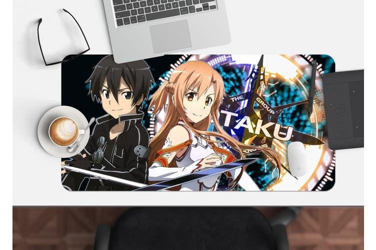 3D Sword Art Online 329 Anime Desk Mat, W120cmxH60cm(47''x24'')