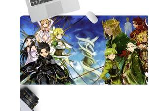 3D Sword Art Online 327 Anime Desk Mat, W80cmxH40cm(21''x16'')