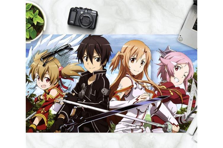 3D Sword Art Online 326 Anime Desk Mat, W60cmxH30cm(24''x12'')