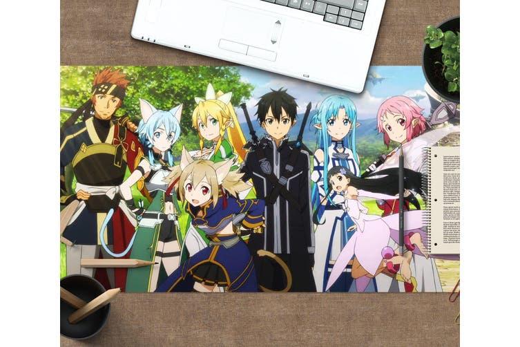 3D Sword Art Online 325 Anime Desk Mat, W60cmxH30cm(24''x12'')