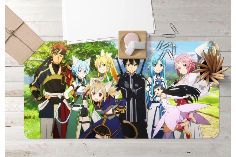 3D Sword Art Online 325 Anime Desk Mat, W80cmxH40cm(21''x16'')