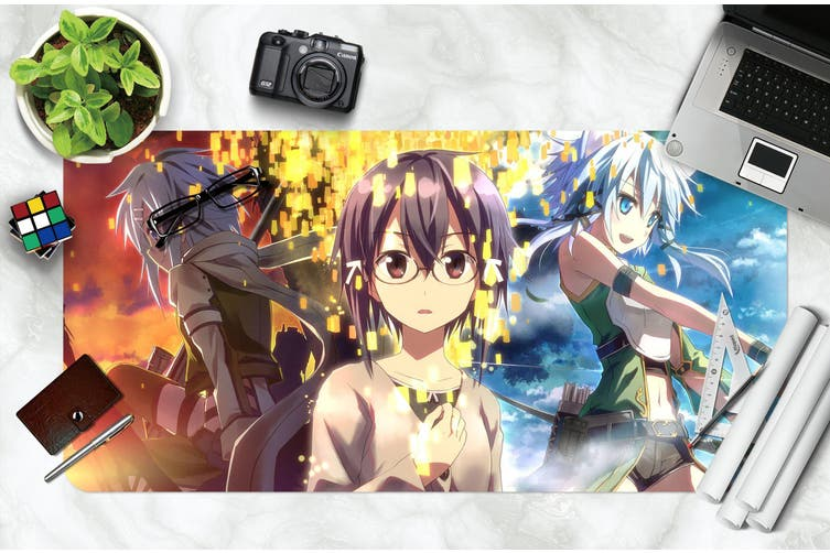 3D Sword Art Online 324 Anime Desk Mat, W80cmxH40cm(21''x16'')