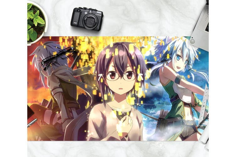 3D Sword Art Online 324 Anime Desk Mat, W120cmxH60cm(47''x24'')