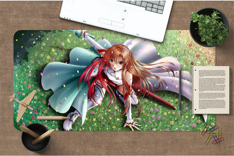 3D Sword Art Online 322 Anime Desk Mat, W80cmxH40cm(21''x16'')