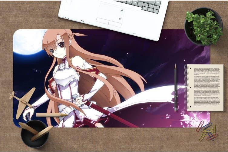 3D Sword Art Online 321 Anime Desk Mat, W120cmxH60cm(47''x24'')