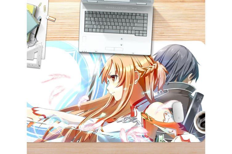 3D Sword Art Online 320 Anime Desk Mat, W60cmxH30cm(24''x12'')