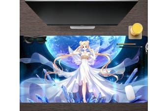 3D Sailor Moon 319 Anime Desk Mat, W60cmxH30cm(24''x12'')