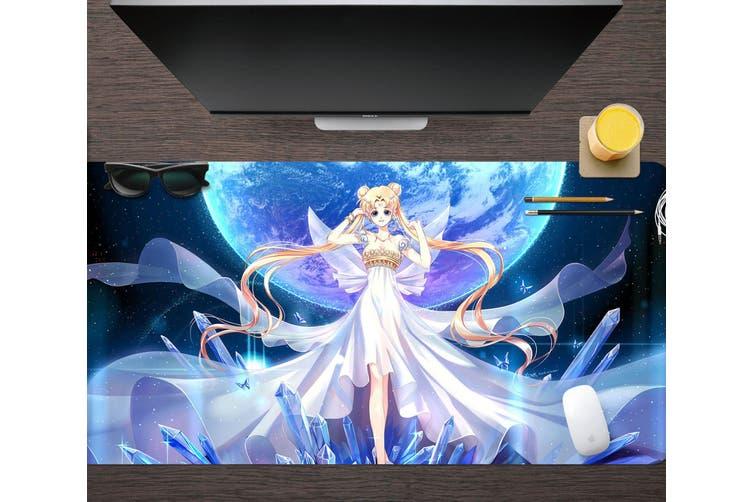 3D Sailor Moon 319 Anime Desk Mat, W90cmxH40cm(35''x18'')