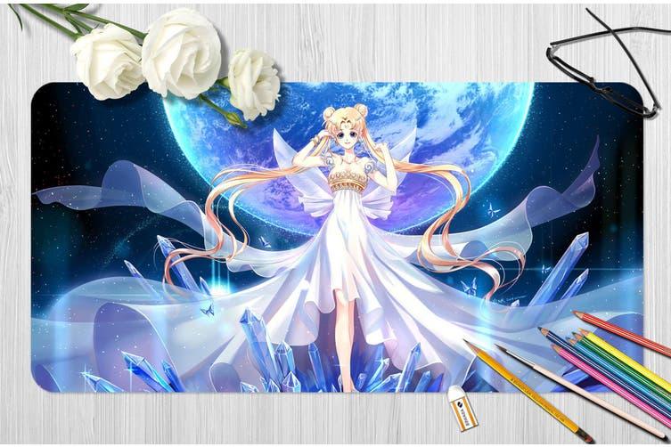 3D Sailor Moon 319 Anime Desk Mat, W120cmxH60cm(47''x24'')