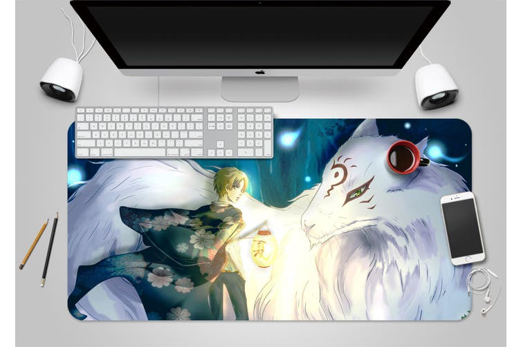 3D Natsume 318 Anime Desk Mat, W80cmxH40cm(21''x16'')