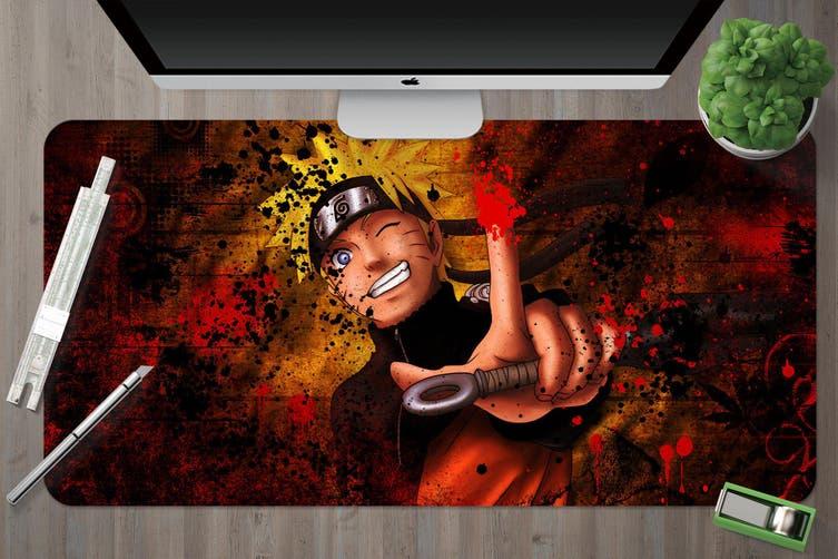 3D Naruto 316 Anime Desk Mat, W60cmxH30cm(24''x12'')