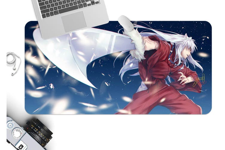 3D Inuyasha 310 Anime Desk Mat, W120cmxH60cm(47''x24'')