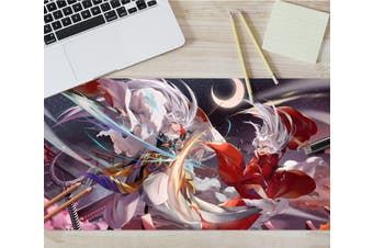 3D Inuyasha 307 Anime Desk Mat, W60cmxH30cm(24''x12'')