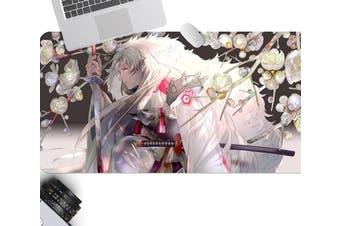 3D Inuyasha 306 Anime Desk Mat, W60cmxH30cm(24''x12'')