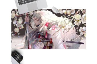 3D Inuyasha 306 Anime Desk Mat, W80cmxH40cm(21''x16'')