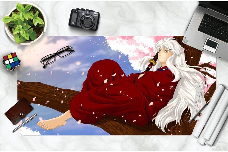 3D Inuyasha 304 Anime Desk Mat, W60cmxH30cm(24''x12'')