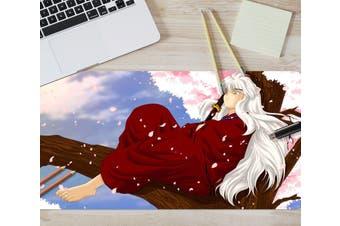 3D Inuyasha 304 Anime Desk Mat, W80cmxH40cm(21''x16'')