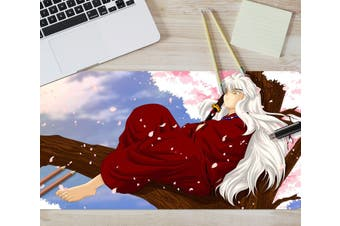 3D Inuyasha 304 Anime Desk Mat, W90cmxH40cm(35''x18'')