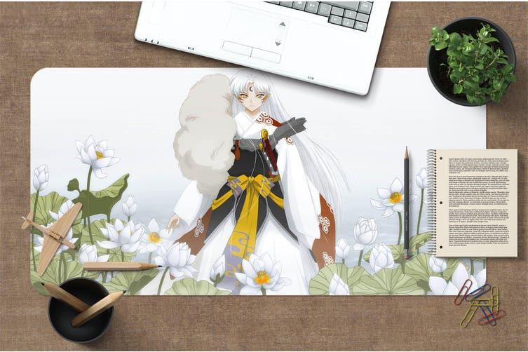 3D Inuyasha 303 Anime Desk Mat, W120cmxH60cm(47''x24'')