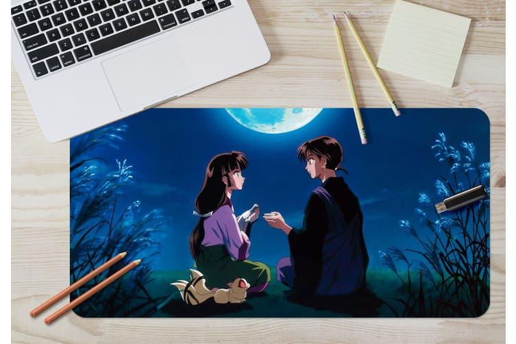 3D Inuyasha 300 Anime Desk Mat, W120cmxH60cm(47''x24'')
