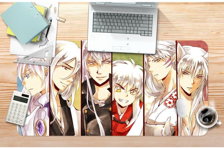 3D Inuyasha 296 Anime Desk Mat, W60cmxH30cm(24''x12'')
