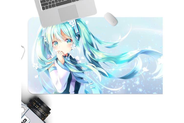 3D Hatsune Miku 293 Anime Desk Mat, W80cmxH40cm(21''x16'')