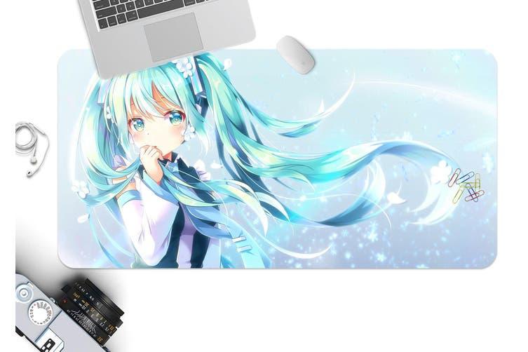 3D Hatsune Miku 293 Anime Desk Mat, W120cmxH60cm(47''x24'')