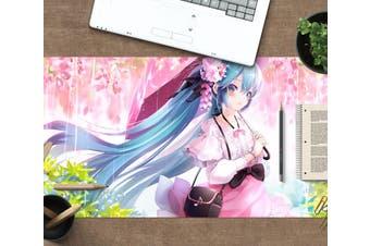 3D Hatsune Miku 288 Anime Desk Mat, W60cmxH30cm(24''x12'')