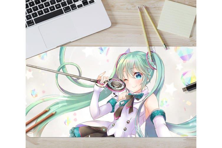 3D Hatsune Miku 285 Anime Desk Mat, W80cmxH40cm(21''x16'')