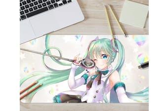 3D Hatsune Miku 285 Anime Desk Mat, W90cmxH40cm(35''x18'')