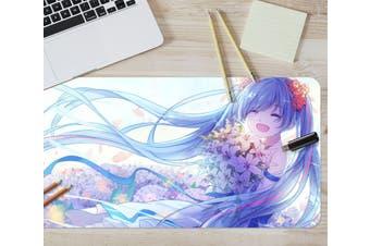 3D Hatsune Miku 282 Anime Desk Mat, W120cmxH60cm(47''x24'')