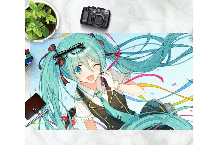 3D Hatsune Miku 280 Anime Desk Mat, W60cmxH30cm(24''x12'')
