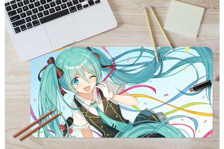 3D Hatsune Miku 280 Anime Desk Mat, W80cmxH40cm(21''x16'')