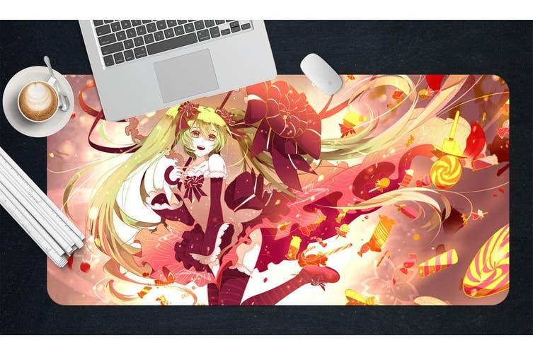 3D Hatsune Miku 279 Anime Desk Mat, W120cmxH60cm(47''x24'')