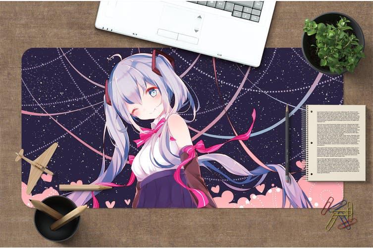 3D Hatsune Miku 278 Anime Desk Mat, W80cmxH40cm(21''x16'')