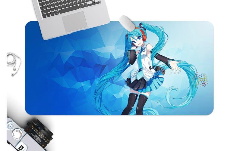 3D Hatsune Miku 277 Anime Desk Mat, W80cmxH40cm(21''x16'')